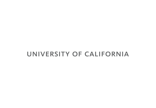 University of California Wordmark Logo single line