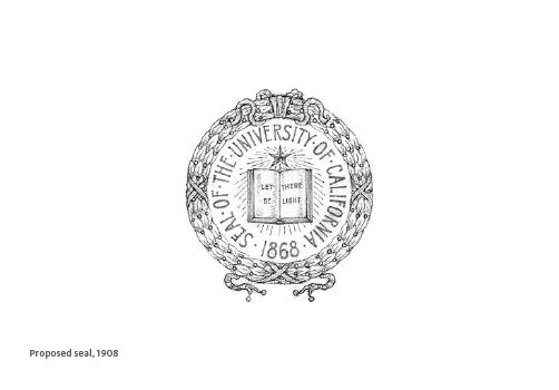 Proposed seal, 1908