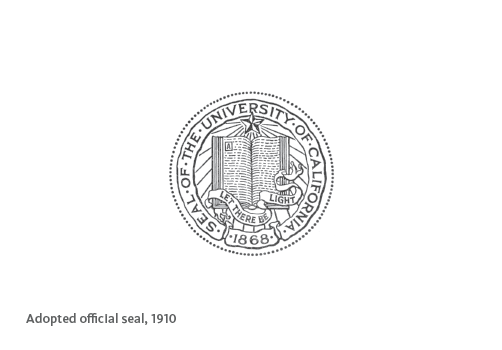 Adopted official seal, 1910